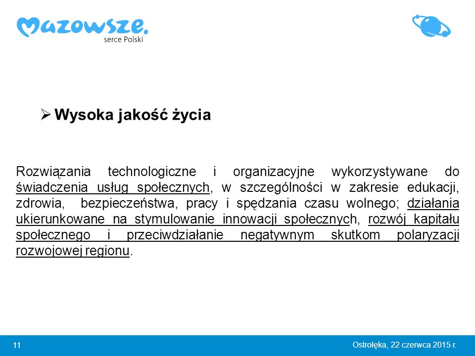 11 Ostrołęka, 22 czerwca 2015 r.
