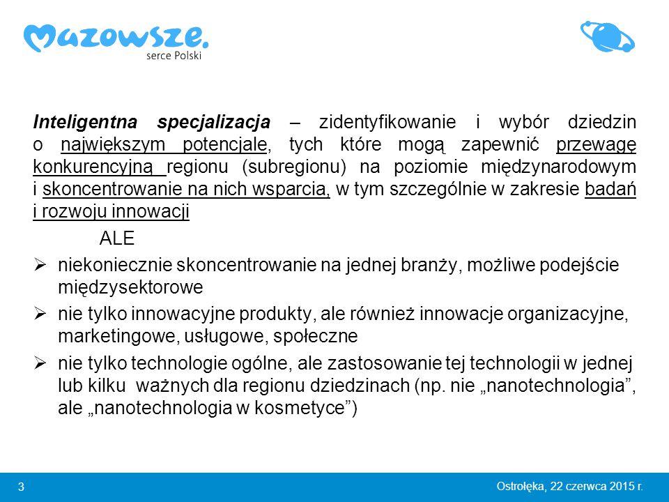 14 Ostrołęka, 22 czerwca 2015 r.Grupy robocze ds.