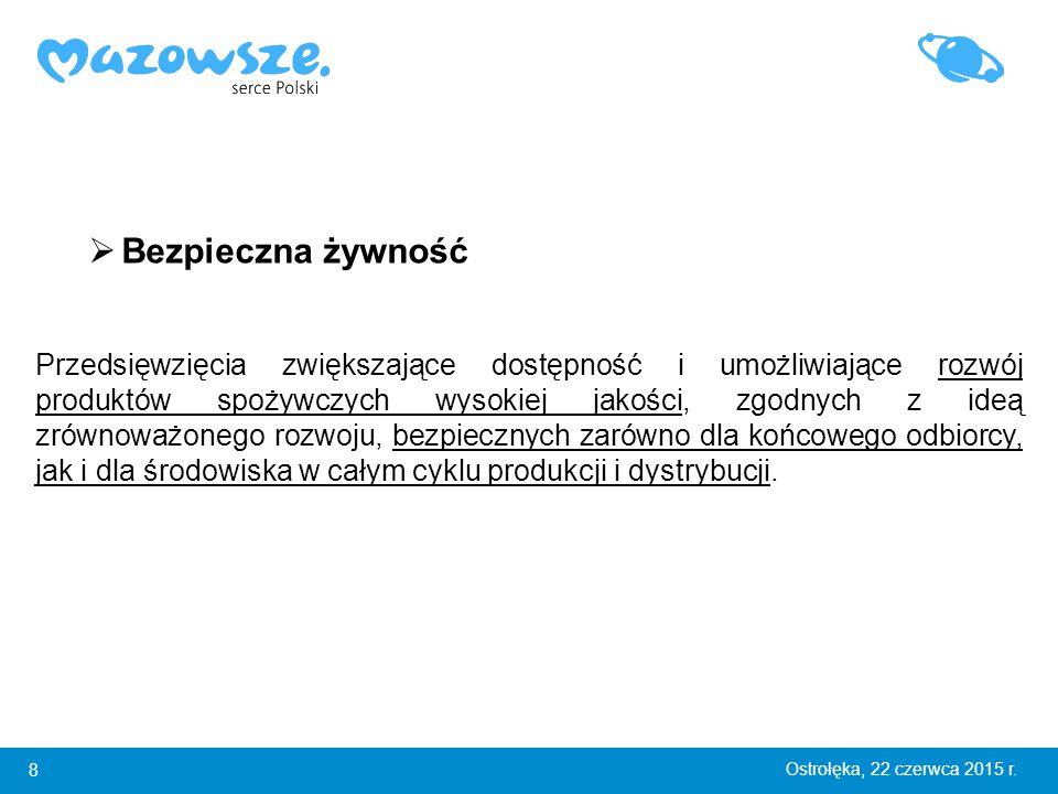 9 Ostrołęka, 22 czerwca 2015 r.