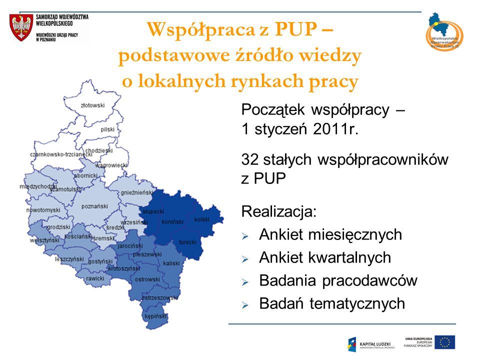 Początek współpracy – 1 styczeń 2011r.
