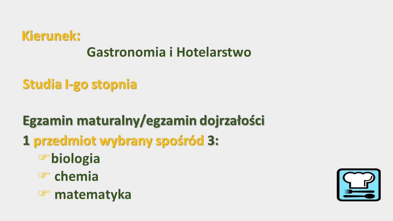 Potencjalne miejsca pracy: Potencjalne miejsca pracy:  przedsiębiorstwa gastronomiczne i cateringowe  obiekty hotelarskie  placówki oświatowo-wychowawcze