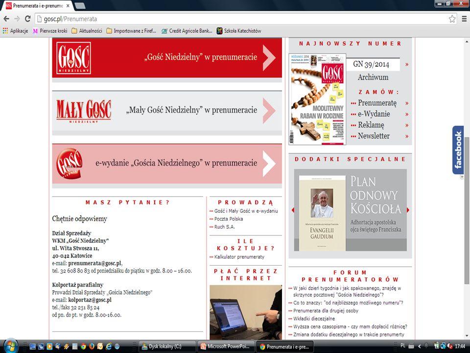 PRENUMERATA gosc.pl/prenumerata