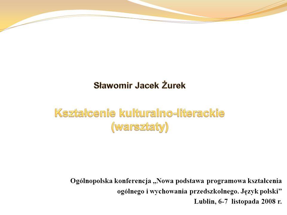 """Ogólnopolska konferencja """"Nowa podstawa programowa kształcenia ogólnego i wychowania przedszkolnego."""
