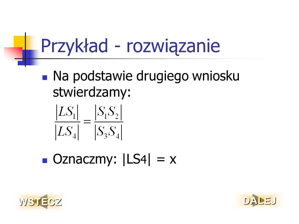 Przykład – c.d.