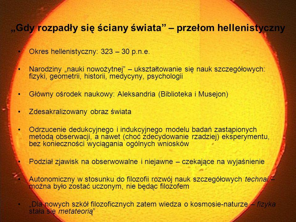 II Astrometria hellenistyczna