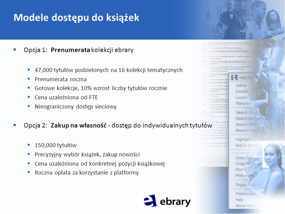 Prenumerata: kolekcje tematyczne Tematyka Liczba tytułów Business and Economics 8,091 Computers and IT 3,188 Education 2,811 Engineering and Technology 4,122 History and Political Science 8,894 Humanities 2,518 Interdisciplinary and Area Studies 4,029 Language Literature and Linguistics 5,193 Law 4,609 Life Sciences 3,011 Medical 2,229 Nursing and Allied Health 2,437 Physical Sciences 2,367 Psychology and Social Work 2,802 Religion Philosophy and Classics 4,259 Sociology and Anthropology 4,200