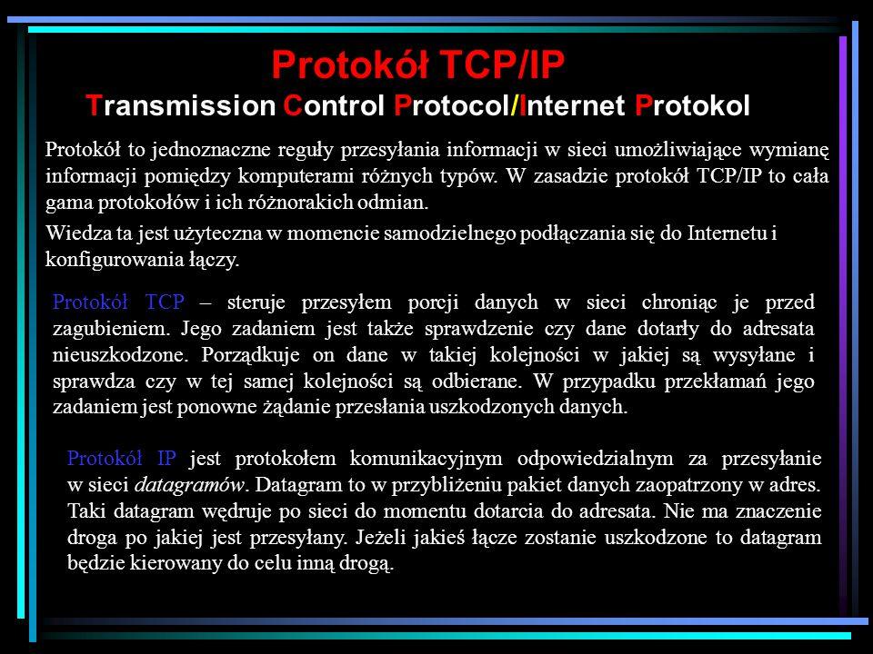 Internet w Polsce 1991 powołanie Naukowo Akademickiej Sieci Komputerowej (NASK). Jest to instytucja państwowa powołana specjalnie do tworzenia i rozwo