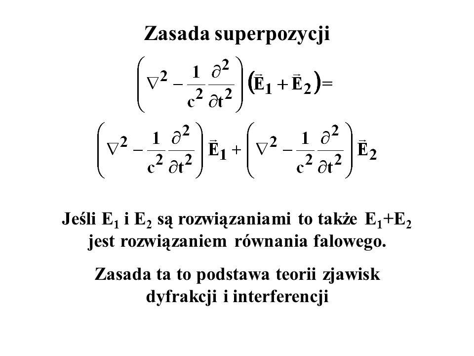 Dla dużych odległości można przyjąć, że promienie r 1 i r 2 są równoległe. W konsekwencji:
