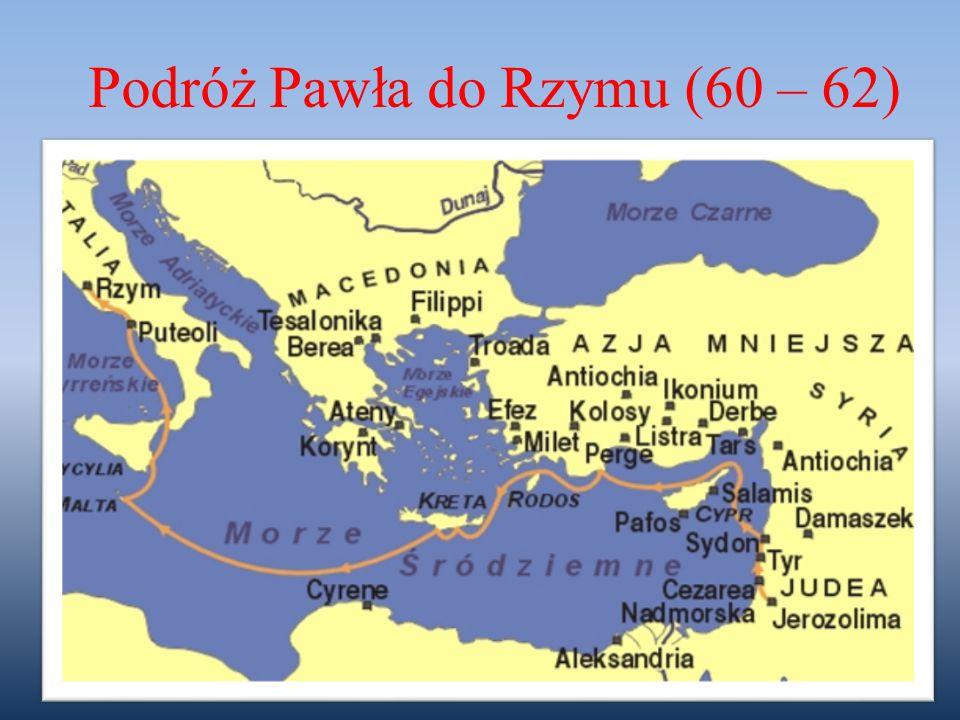 Podróż Pawła do Rzymu (60 – 62)