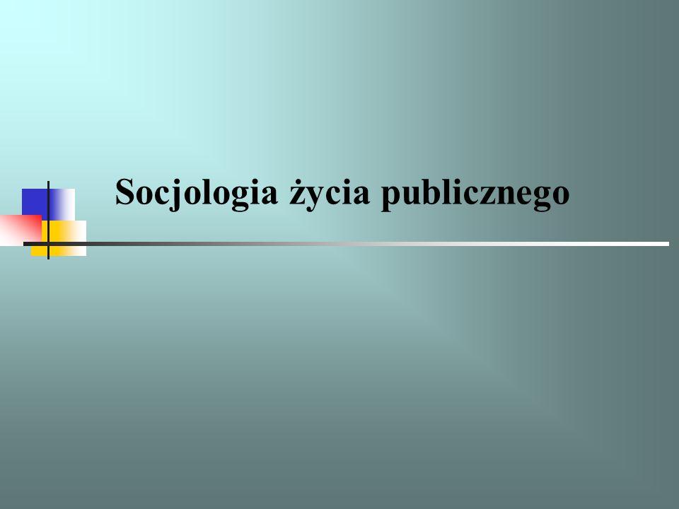 Socjologia życia publicznego to specjalność: kształcąca absolwentów przygotowanych do analizy funkcjonowania życia publicznego, dająca szeroką wiedzą o społecznych aspektach systemu władzy, polityki i społeczeństwa obywatelskiego, instytucjach życia publicznego i mechanizmach jego funkcjonowania, umożliwiająca efektywne pozyskiwanie środków z programów Unii Europejskiej,