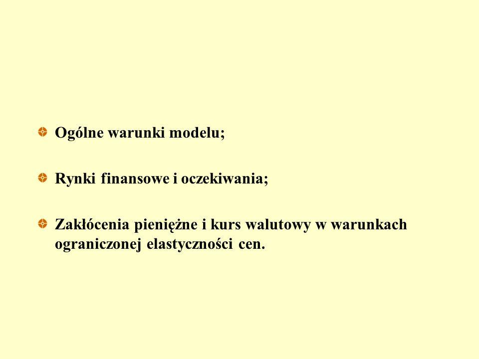 """Krótki i długi okres: """"przestrzelenie"""" kursu i model Dornbusha"""