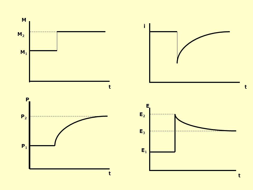 E1E1 M 1 /P 1 i1i1 1 1 2 2 i2i2 E2E2 M 2 /P 1 2 2 i2i2 dostosowania w krótkim okresie dostosowania w długim okresie E2E2 M 2 /P 1 3 E3E3 3 i1i1 M 2 /P