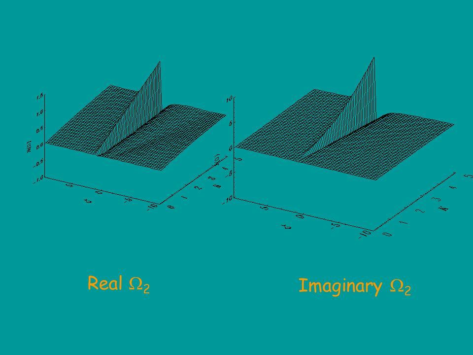  2 = K/(2  3/2 ) [c r 2 /(c r 2 -1) KD(2/c + K)] + i K 2 /(4  [1/c - +|c - / c + |1/c + exp(-4K 2 /c + 2 )] Dispersion relation: c  = c r  1