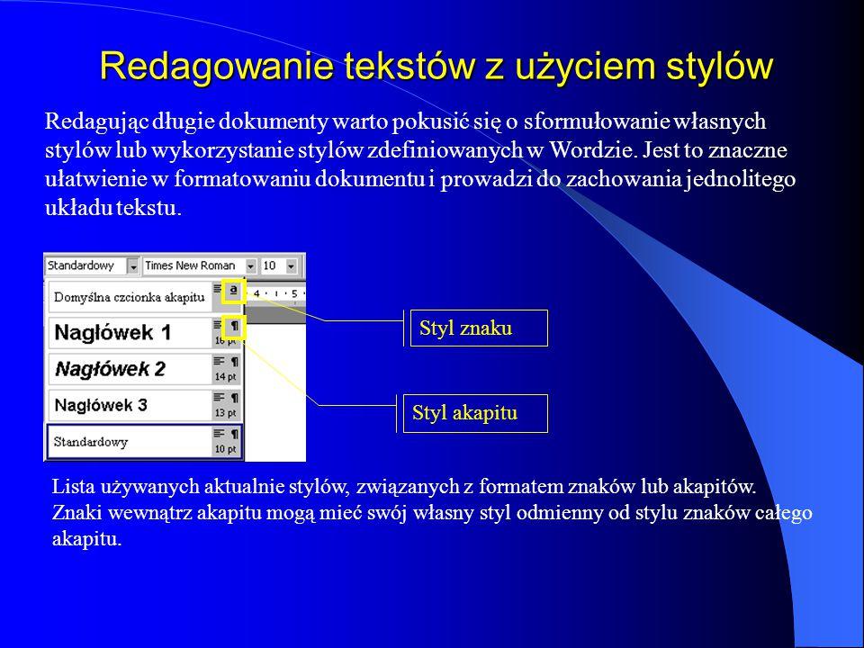 Symbole w tekście odsyłacz do przypisu separator tekst przypisu Symbole, czyli znaki których nie można wstawić z klawiatury, wstawia się korzystając z