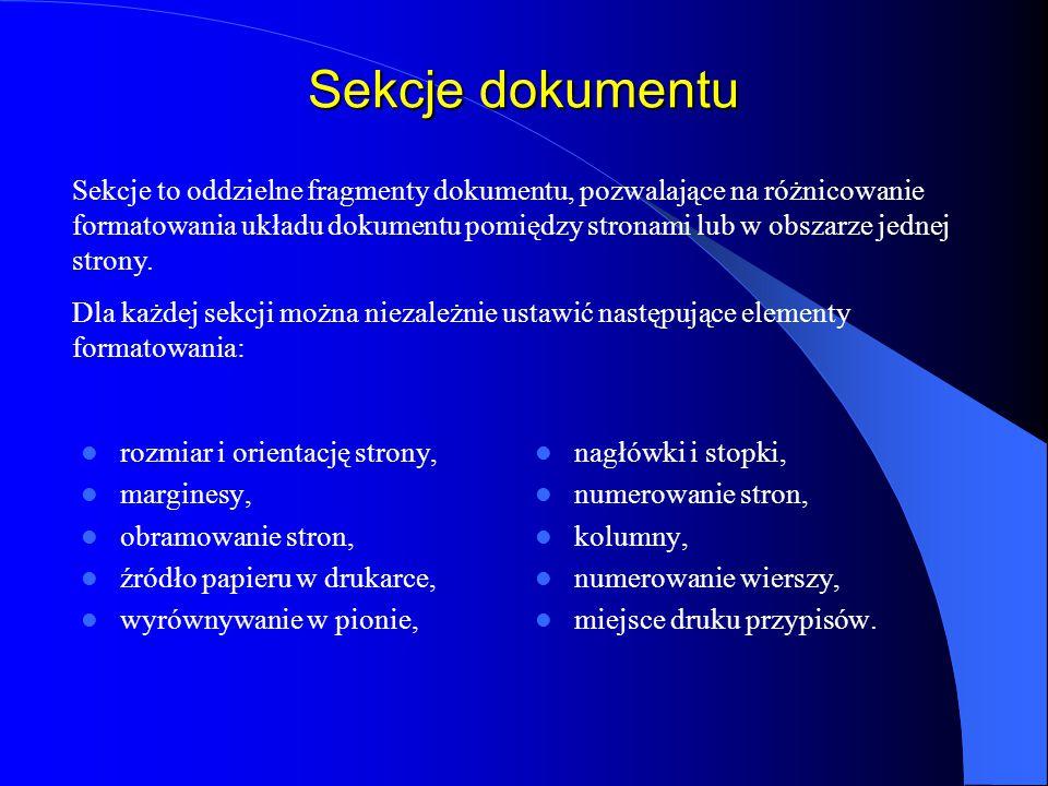 Przypisy Przypisami nazywamy teksty służące do podawania wyjaśnień, komentarzy, odsyłaczy do tekstu, do bibliografii itp.