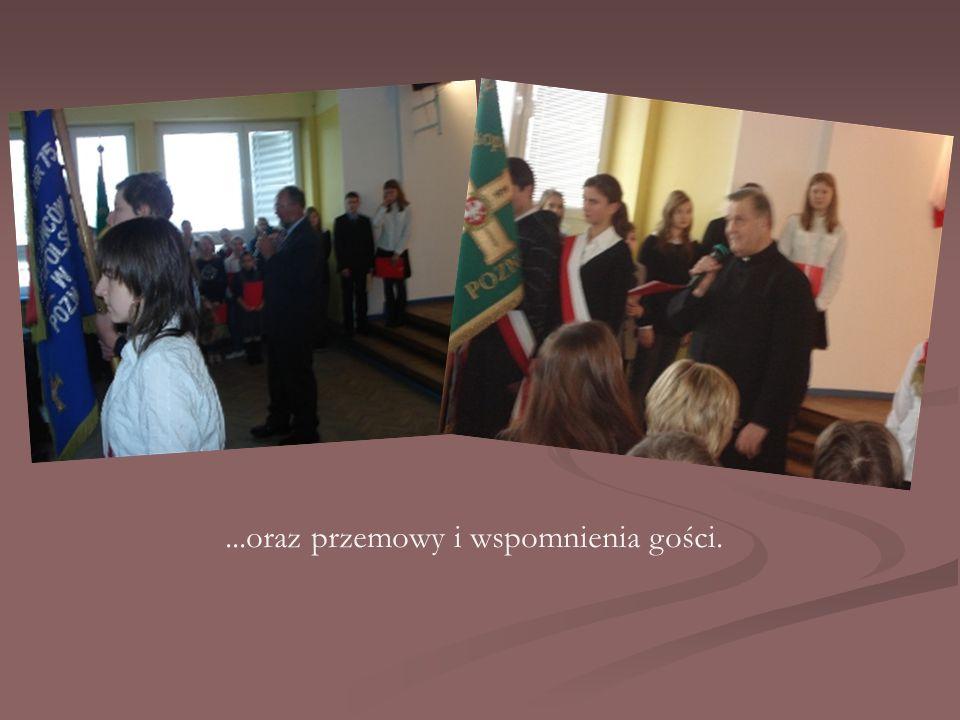 ...oraz przemowy i wspomnienia gości.