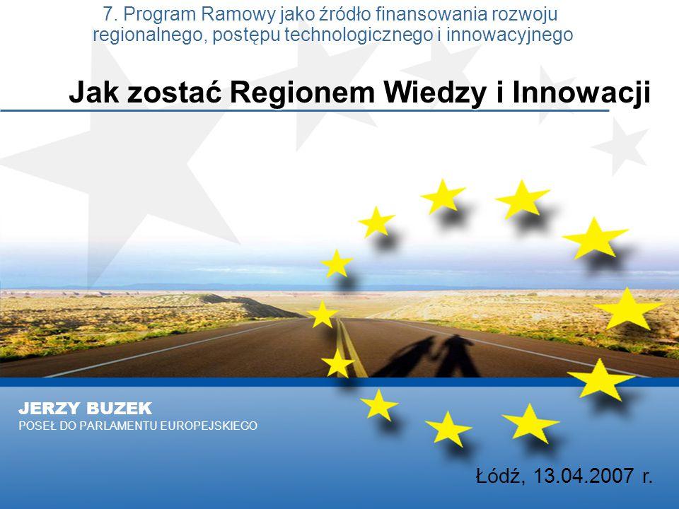 JERZY BUZEK POSEŁ DO PARLAMENTU EUROPEJSKIEGO 7.