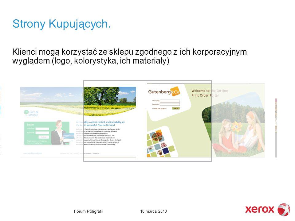10 marca 2010Forum Poligrafii Strony Kupujących.