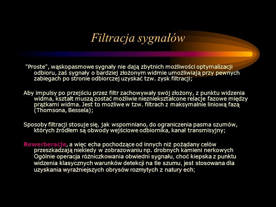 Filtracja sygnałów