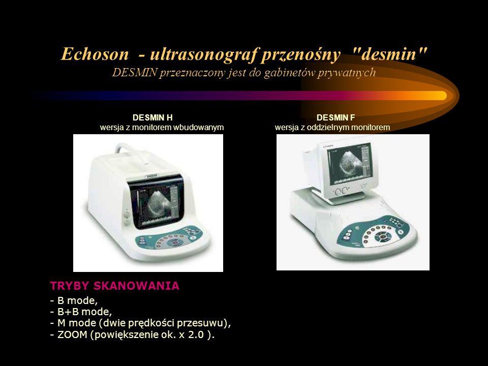 Echoson - ultrasonograf przenośny