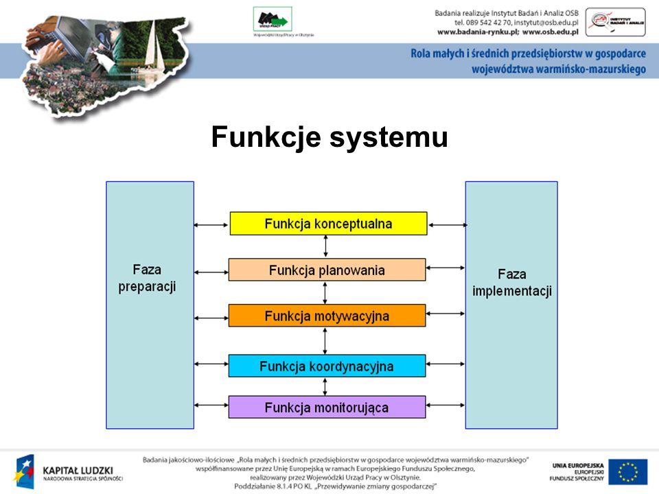 Kompetencje podmiotu zarządzającego: kompetencje merytoryczne, kompetencje organizacyjno-techniczne, kompetencje społeczne, kompetencje polityczne.
