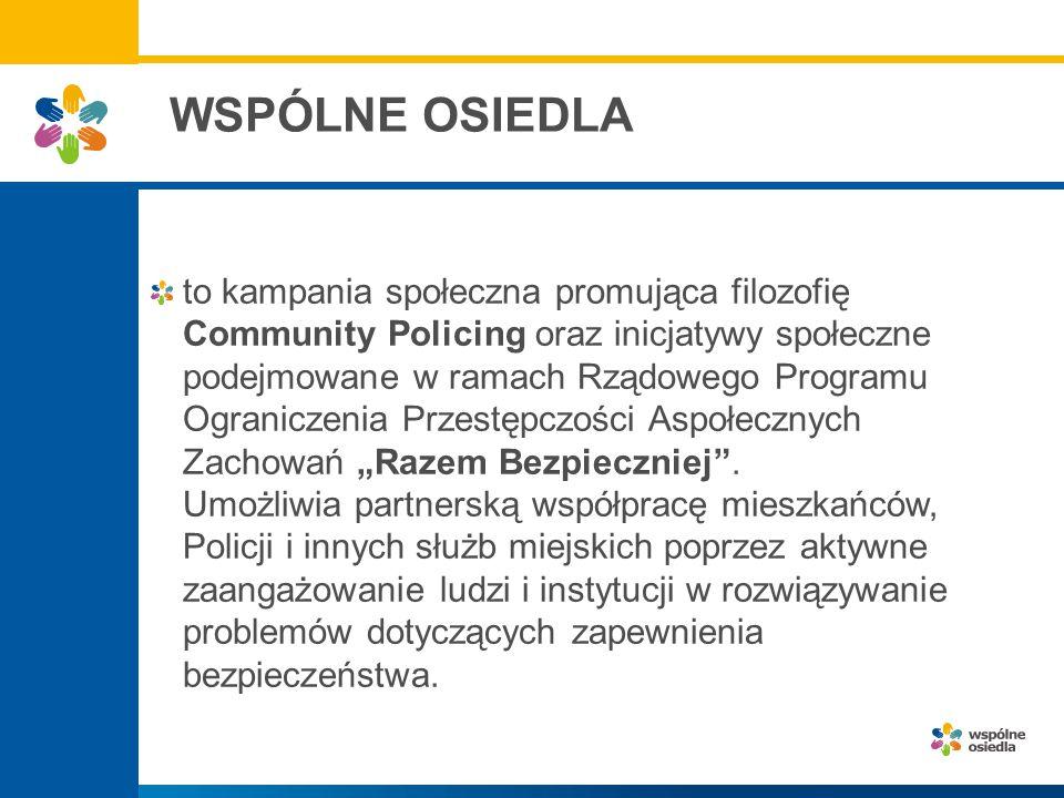 poprawa bezpieczeństwa na danym terenie poprzez określanie i rozwiązywanie problemów związanych z patologią i przestępczością, zakłócaniem porządku publicznego oraz poprawa jakości życia w województwie łódzkiem.