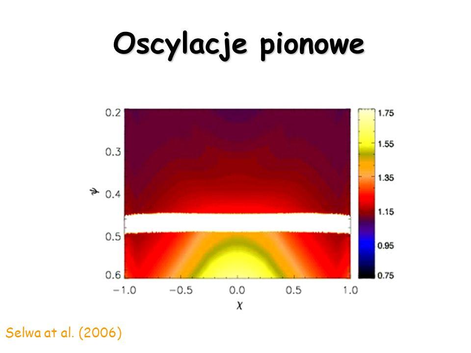 Oscylacje pionowe Selwa et al. (2005)