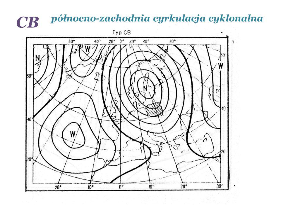 północno-zachodnia cyrkulacja cyklonalna CB