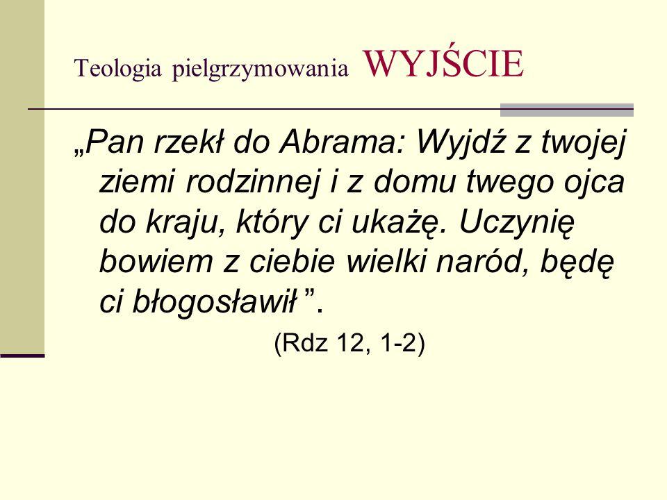 """Teologia pielgrzymowania CEL Świątynia """"Wyrusz, o Panie, na miejsce Twego odpocznienia, Ty i Twoja arka pełna chwały … To jest miejsce mego odpoczynku na wieki, tu będę mieszkał, bo tego pragnąłem dla siebie ."""