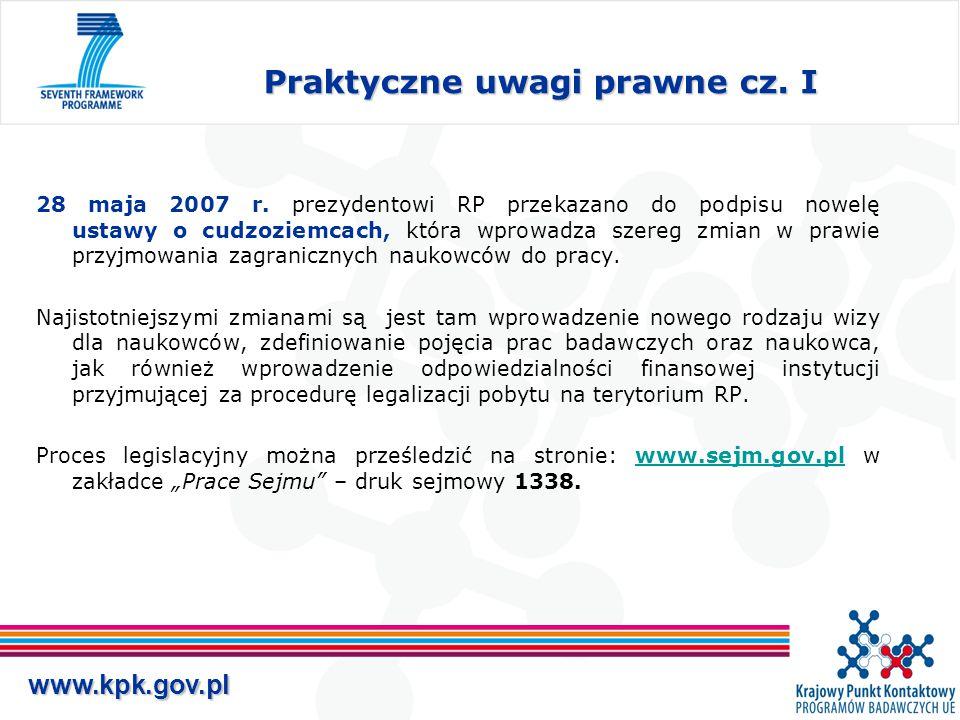 www.kpk.gov.pl Praktyczne uwagi prawne cz. I 28 maja 2007 r.