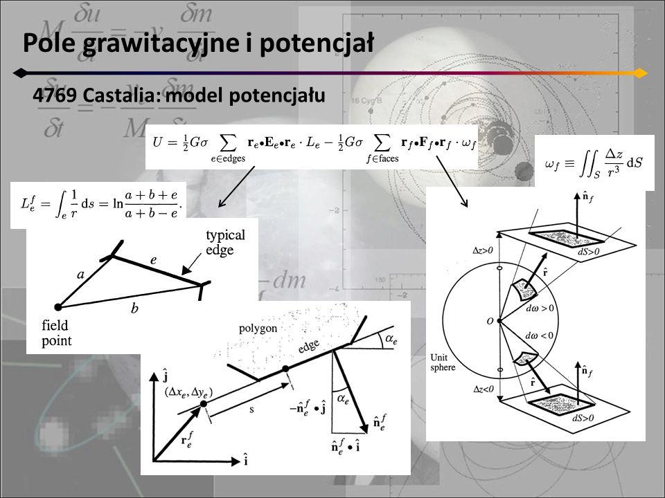 Pole grawitacyjne i potencjał 4769 Castalia: model potencjału