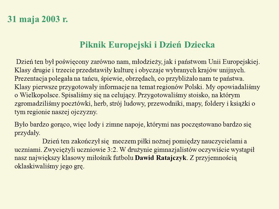 31 maja 2003 r.