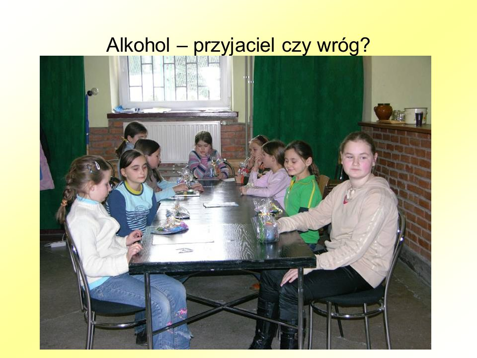 Alkohol – przyjaciel czy wróg