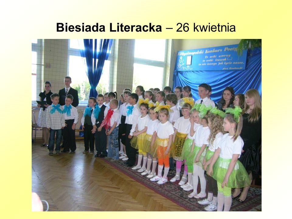 Biesiada Literacka – 26 kwietnia