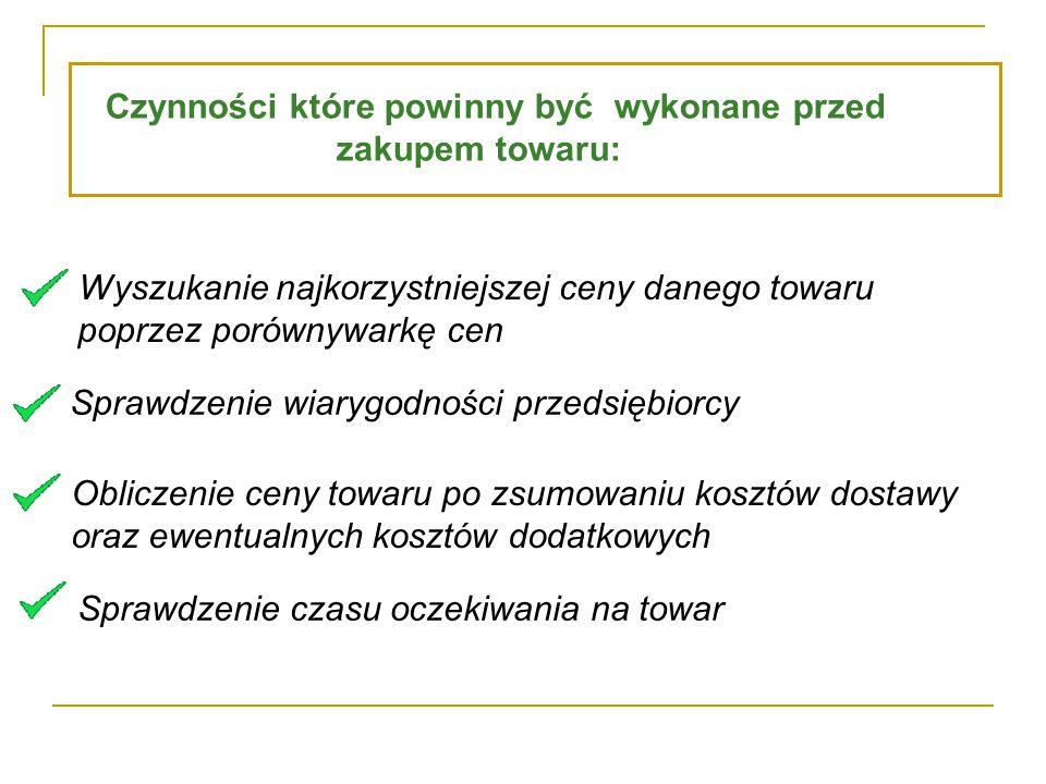 Treści istotne dla użytkownika internetowego serwisu aukcyjnego: przepisy polskiego prawa (gł.