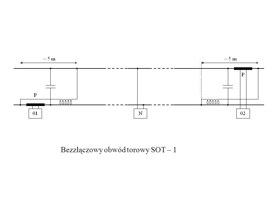 Bezzłączowy obwód torowy SOT – 1
