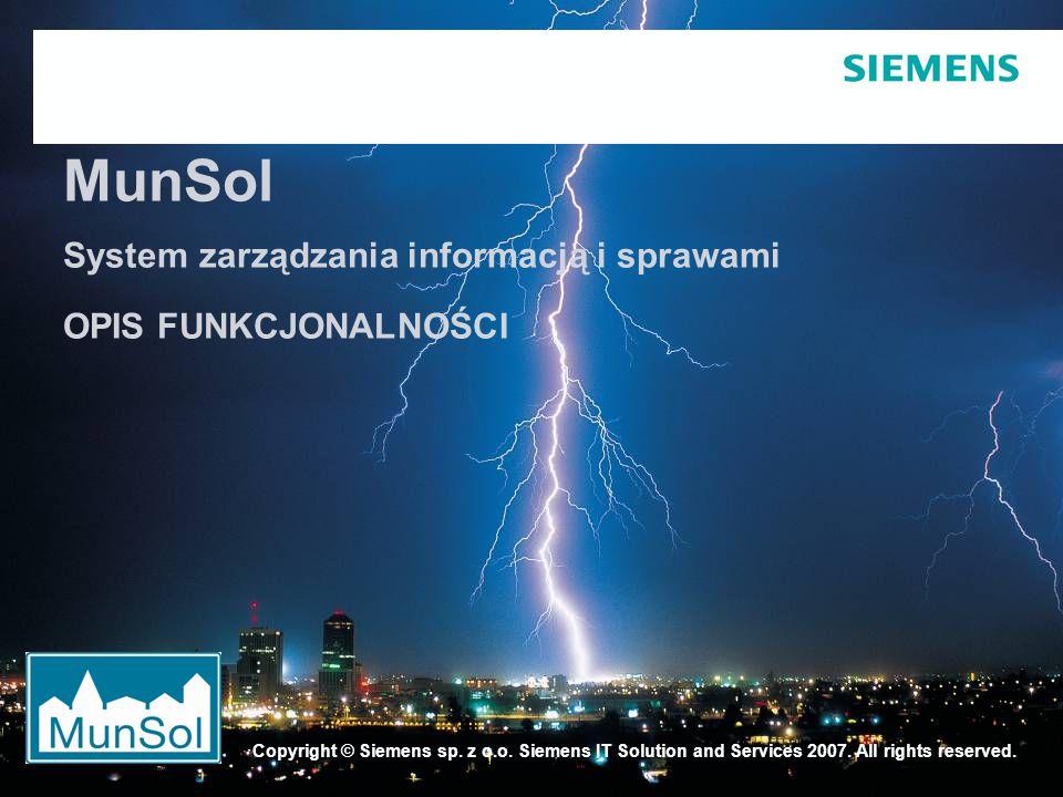 Strona 2 13.04.2007 © Siemens Sp.z o.o. 2007 SIS / AM PUBRafal M.