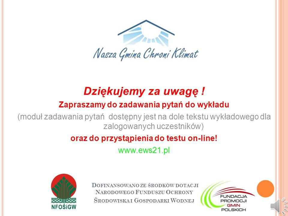 P RZYDATNE LINKI http://www.sejm.gov.pl/ http://www.ure.gov.pl/ http://www.mg.gov.pl/ http://www.nfosigw.gov.pl/ http://www.mae.com.pl/