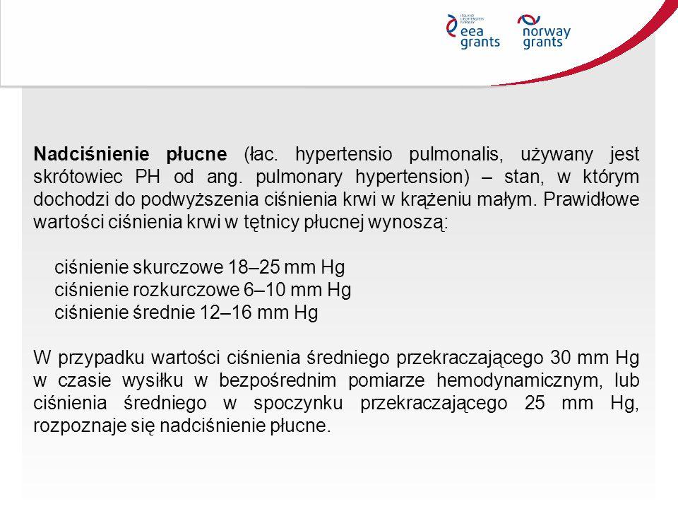 Nadciśnienie płucne (łac. hypertensio pulmonalis, używany jest skrótowiec PH od ang. pulmonary hypertension) – stan, w którym dochodzi do podwyższenia