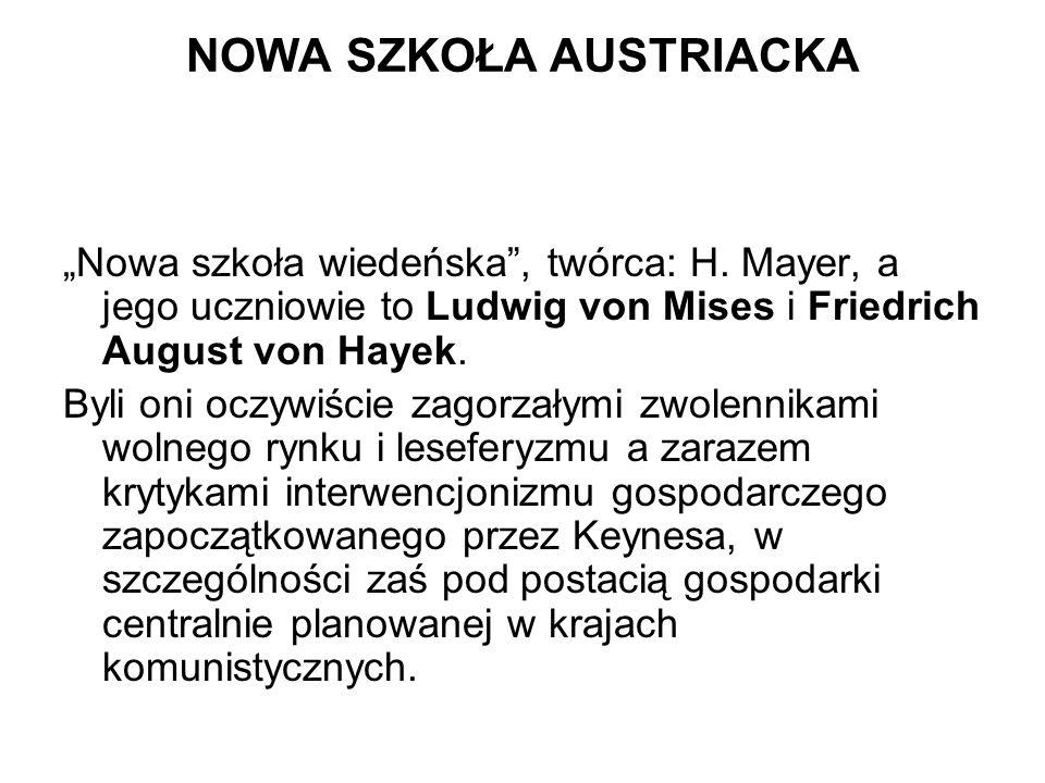 """NOWA SZKOŁA AUSTRIACKA """"Nowa szkoła wiedeńska , twórca: H."""