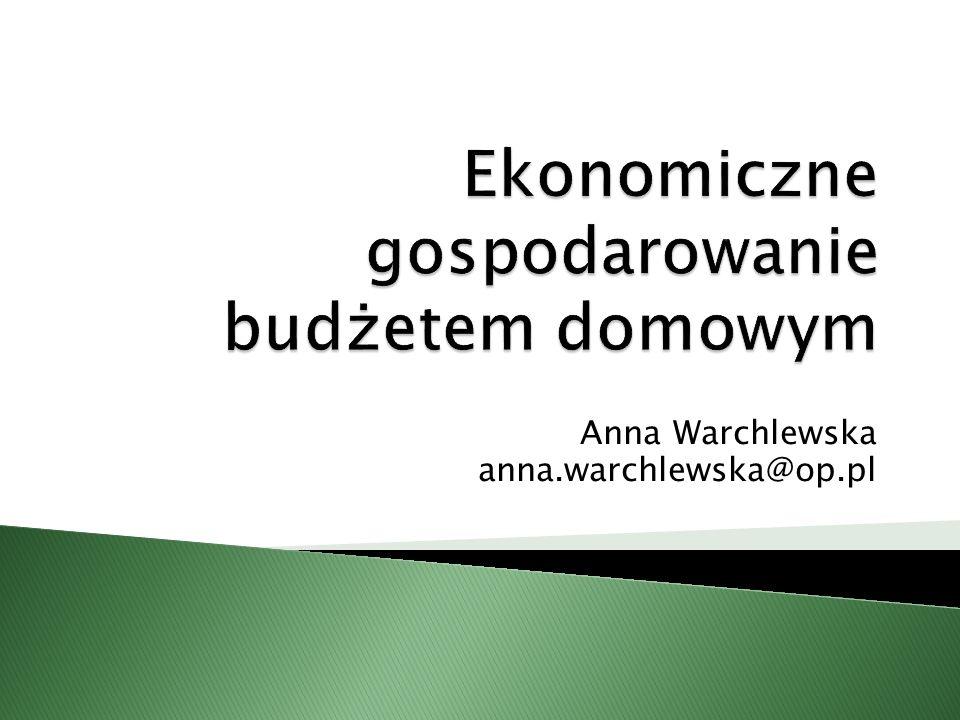 Anna Warchlewska anna.warchlewska@op.pl