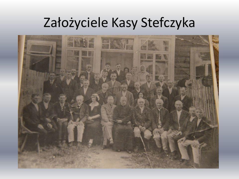 Założyciele Kasy Stefczyka