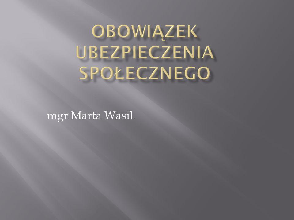  W Polsce przymusowe ubezpieczenie społeczne ma swoje źródło w art.