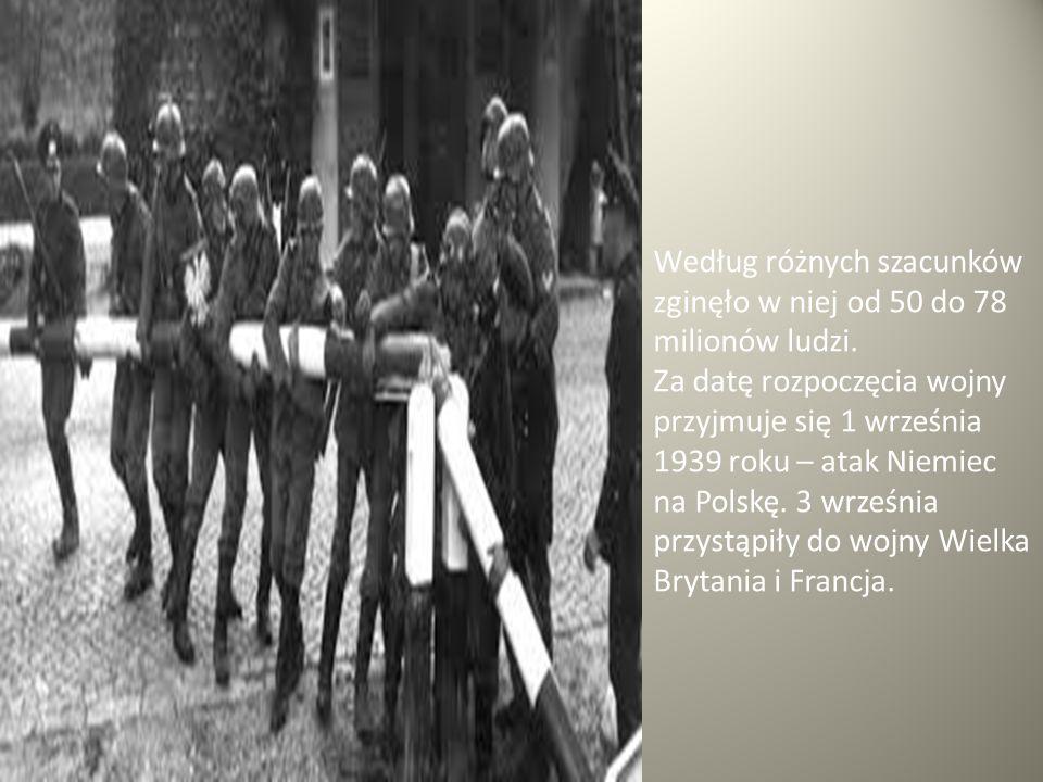 Krótkie podsumowanie Działania wojenne podczas II wojny światowej trwały 6 lat i odbywały się w Europie, Afryce, Azji, na wyspach Oceanu Atlantyckiego i Spokojnego.
