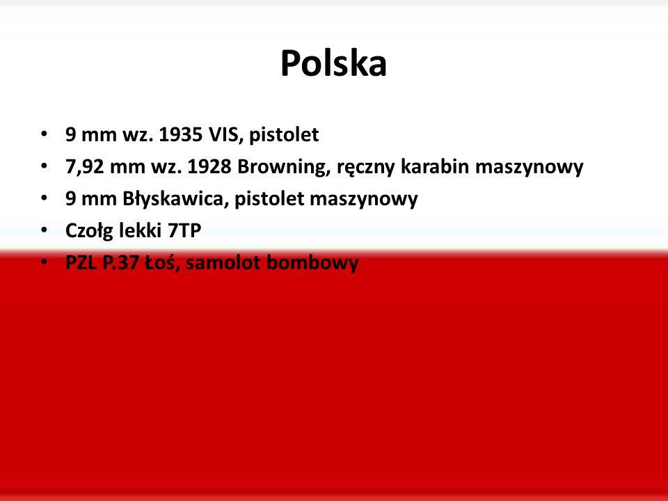 Polska 9 mm wz.1935 VIS, pistolet 7,92 mm wz.