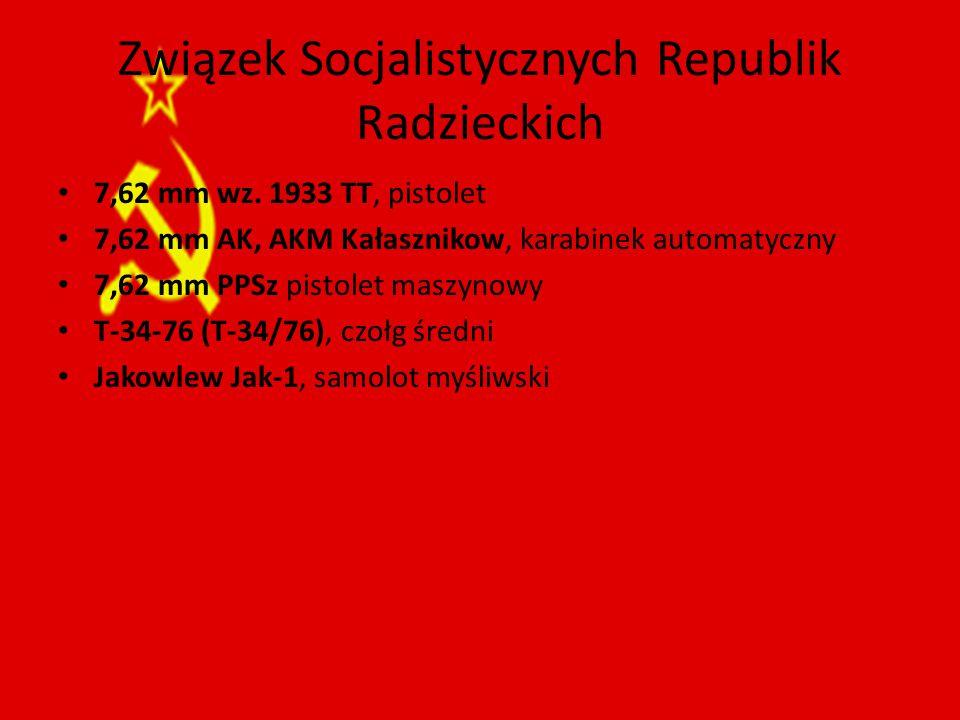 Związek Socjalistycznych Republik Radzieckich 7,62 mm wz.
