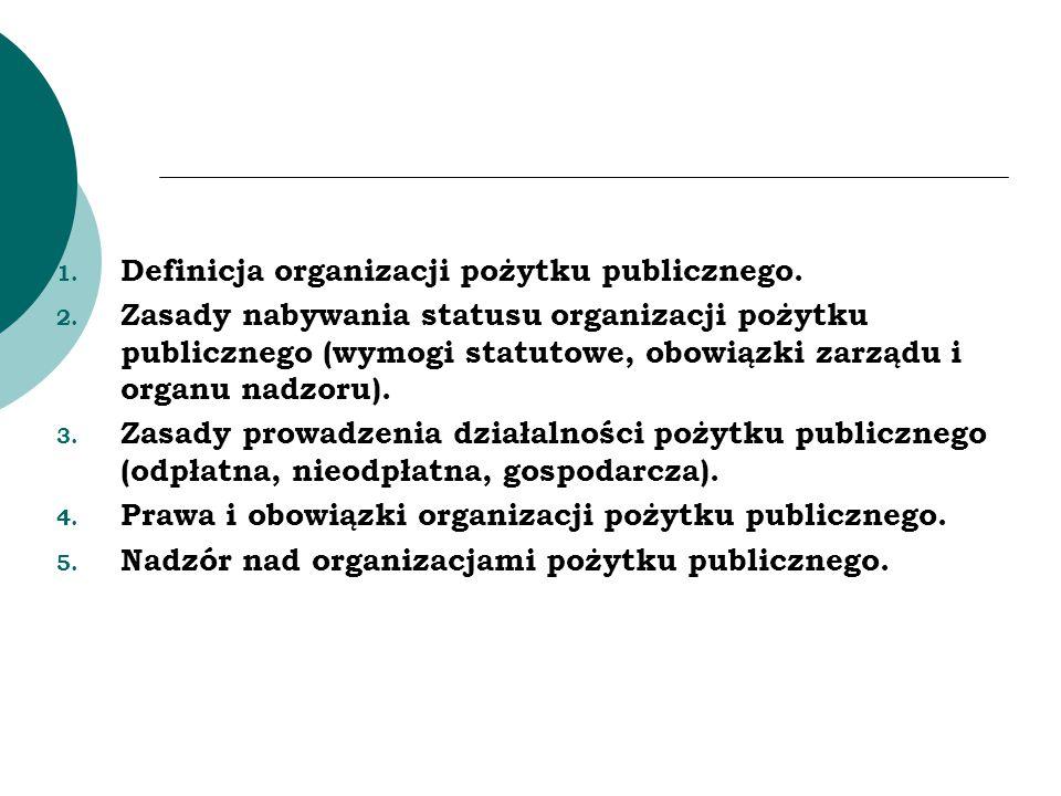 Najważniejsze akty prawne: Ustawa z dnia 24 kwietnia 2003 r.