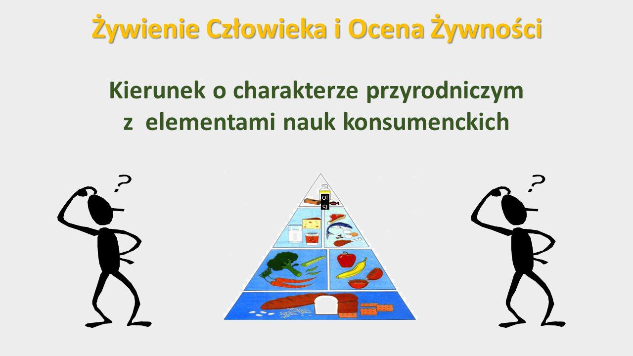 Żywienie Człowieka i Ocena Żywności Kierunek o charakterze przyrodniczym z elementami nauk konsumenckich Ol ej