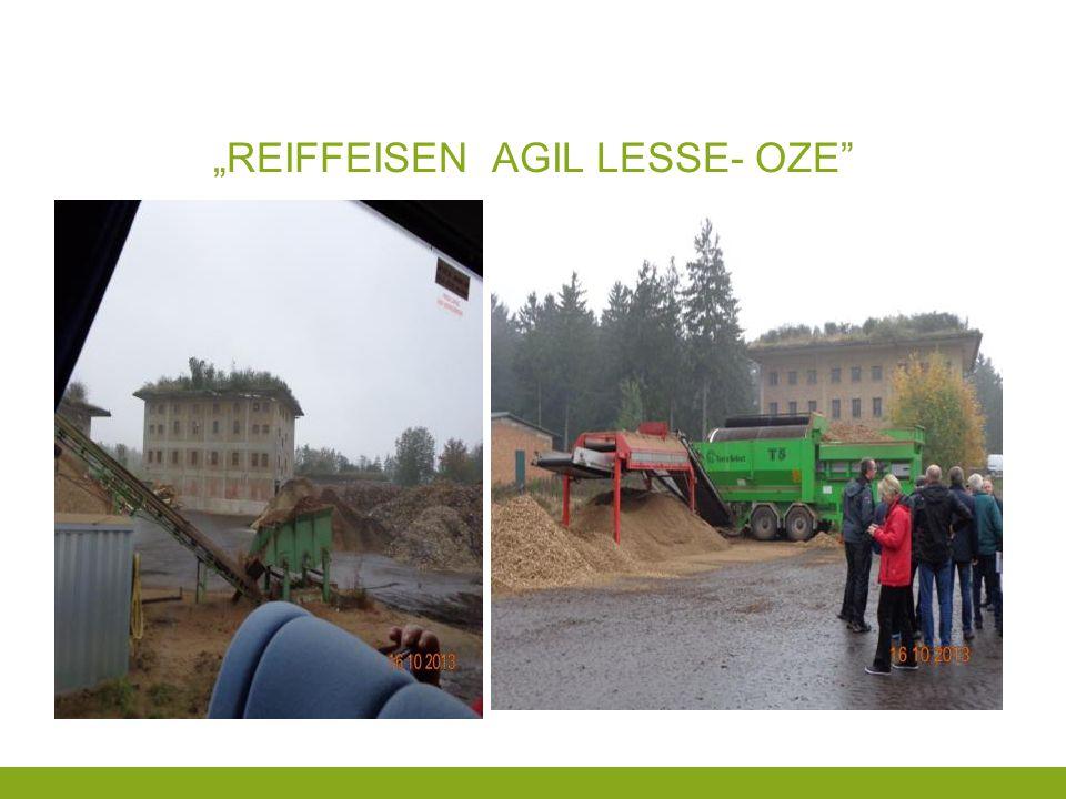 """""""REIFFEISEN AGIL LESSE- OZE"""""""
