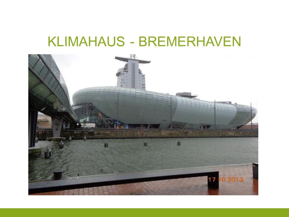 KLIMAHAUS - BREMERHAVEN